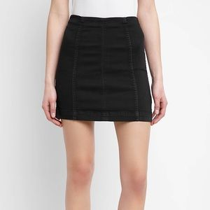 Free People Modern Femme fitted skirt